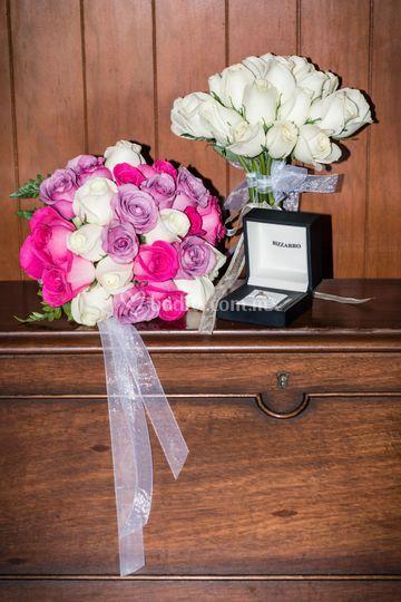Bouquet y Anillo