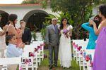 El padre y la novia.