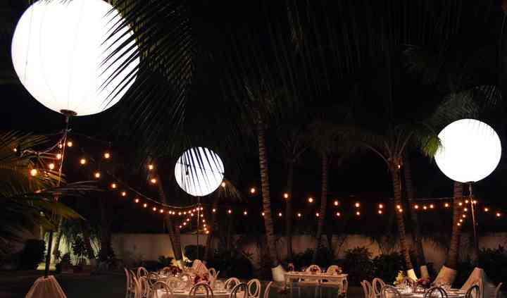 Esferas de luz & stringlights
