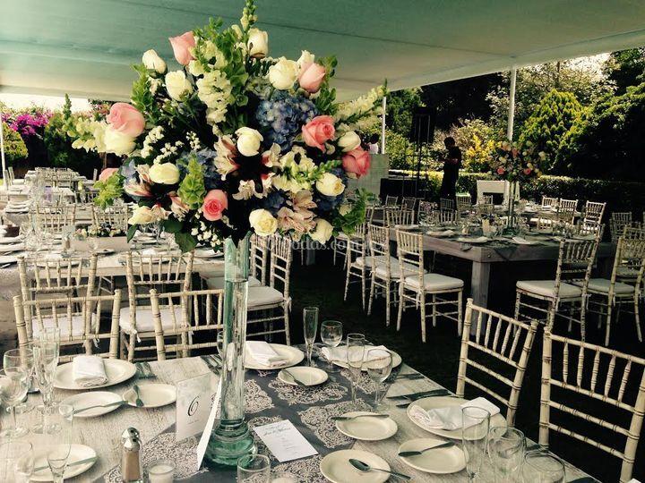 Diseño alto para boda