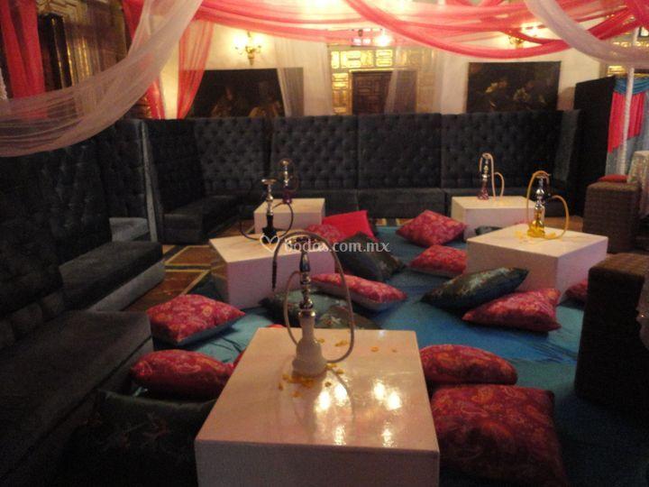 Salas lounge para xv años