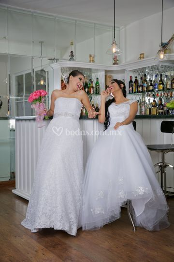 Vestido de novia blancos