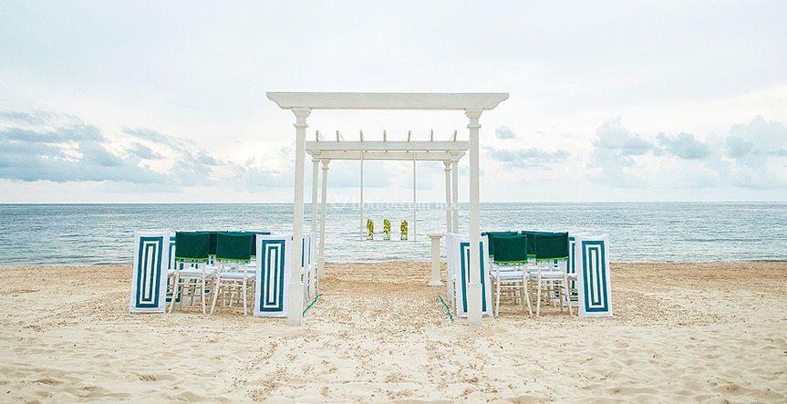 Locación en playa