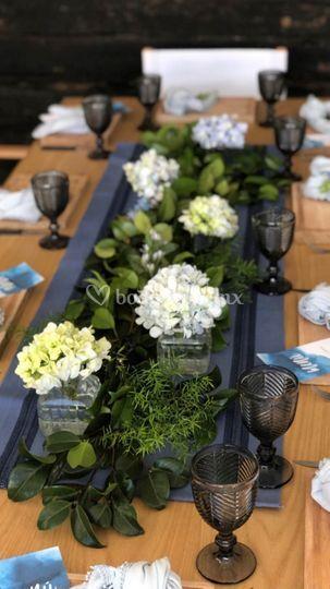 Banquete vista