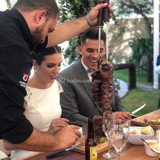 Espadas Brasileñas Amauri Banquetes