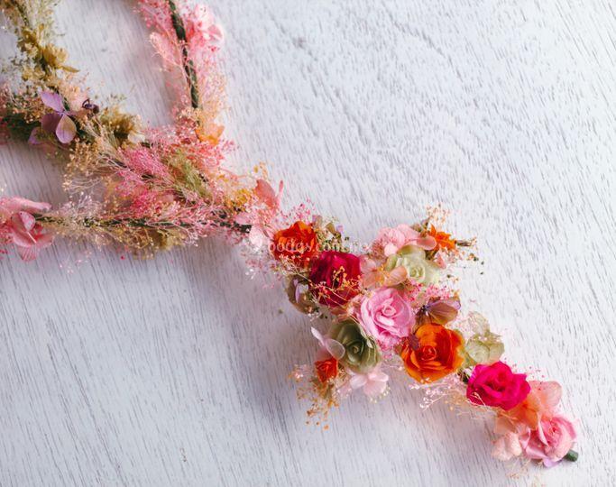 Lazo flor preservada
