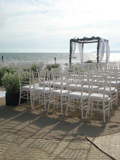 Ceremonia en Playa_tiffany