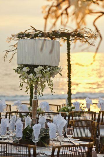 Banquete boda en playa2