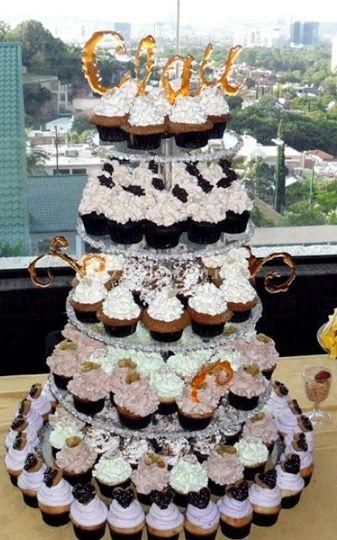 Torre de pastelitos