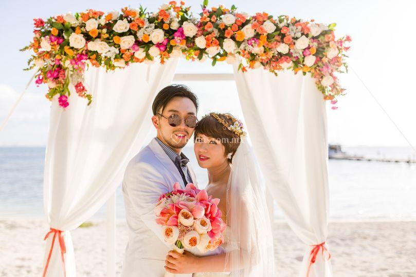 Gazebo de boda