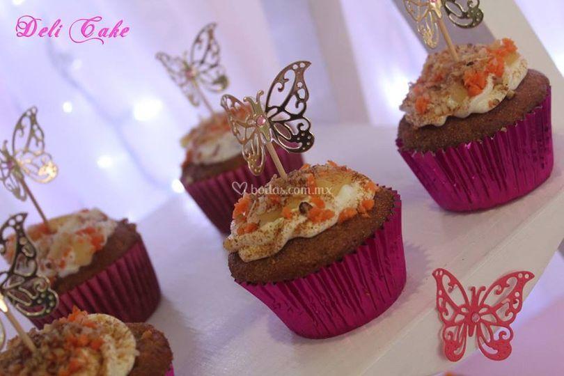 Exquisito Cupcake Zanahoria