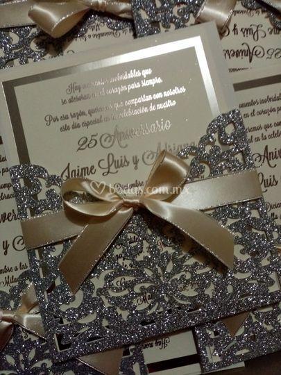 Glitter plata foil