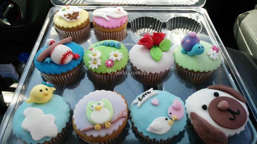 Cupcakes exquisitos