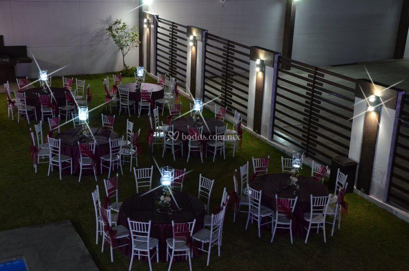 Montaje en Terraza Jardin