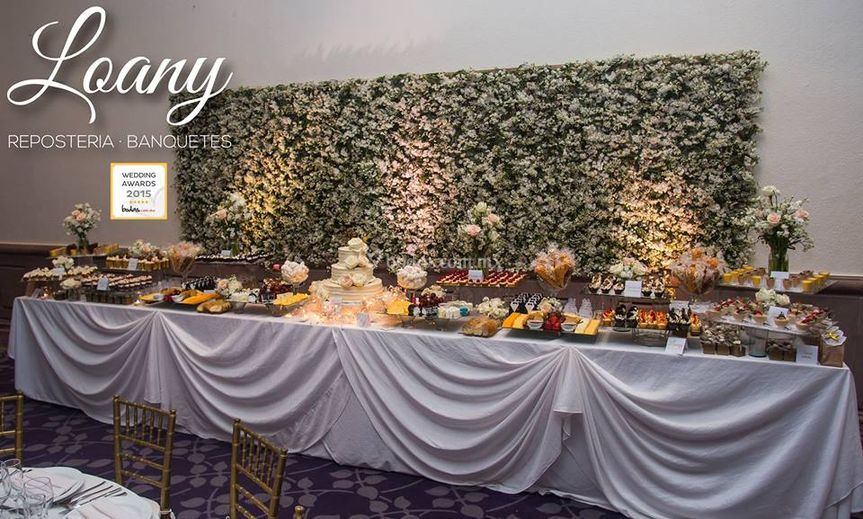 Wedding Cake & Dessert table