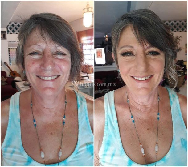 Margo beautiful before & after