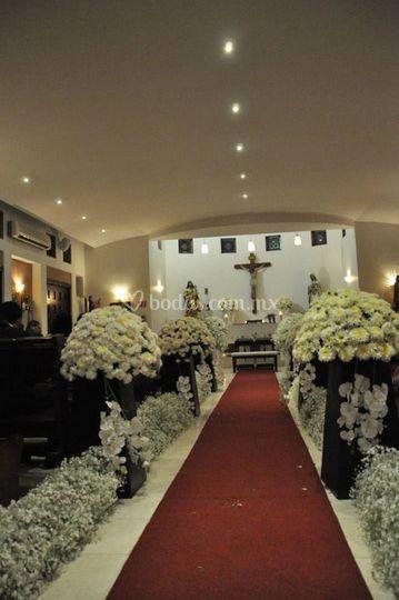 Arreglos florales para la iglesia