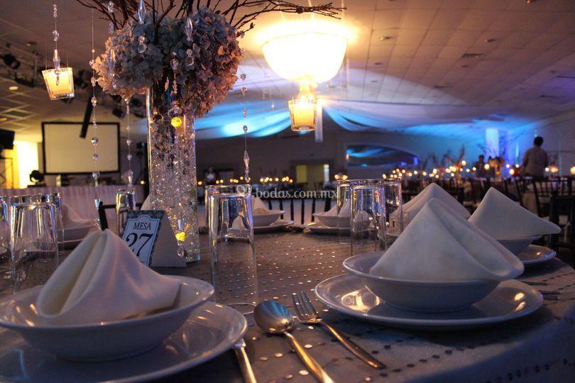Decoración y centros de mesa