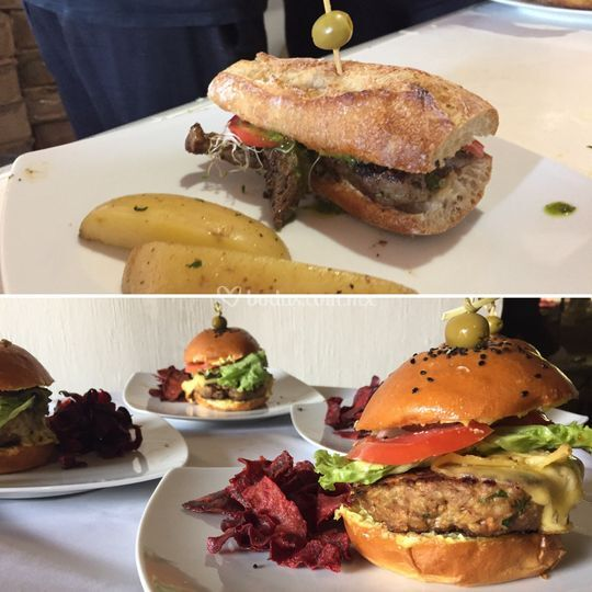 Pepitos y hamburguesas gourmet