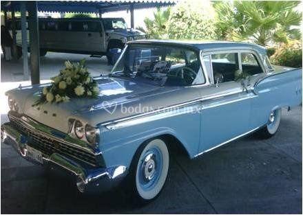 Autos para bodas -Fairlane1959