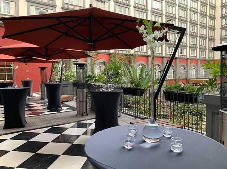 Coctel En Terraza Guadalajara De Four Seasons Hotel Mexico