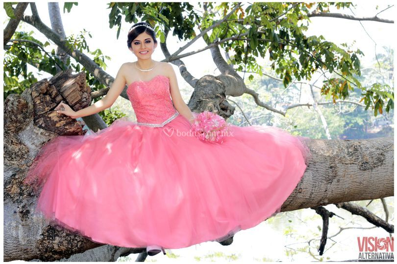 Princesa de rosa