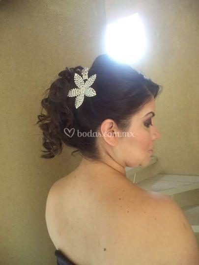 Peinado romàntico
