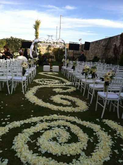 Boda civil y ceremonia
