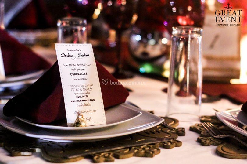 Detalles para invitados