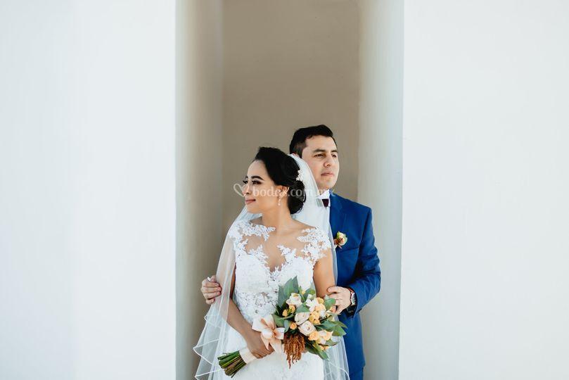 Monica & Juan fotos de boda
