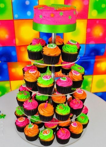 Pasteles y cupcakes