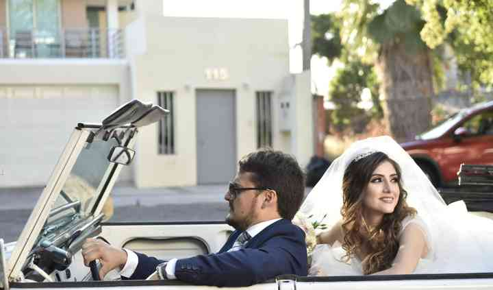 Boho Weddings Car