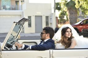 Boho Weddings Car