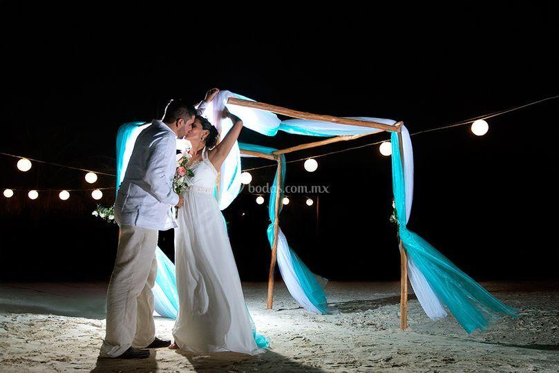 Andres & valeria en cancún