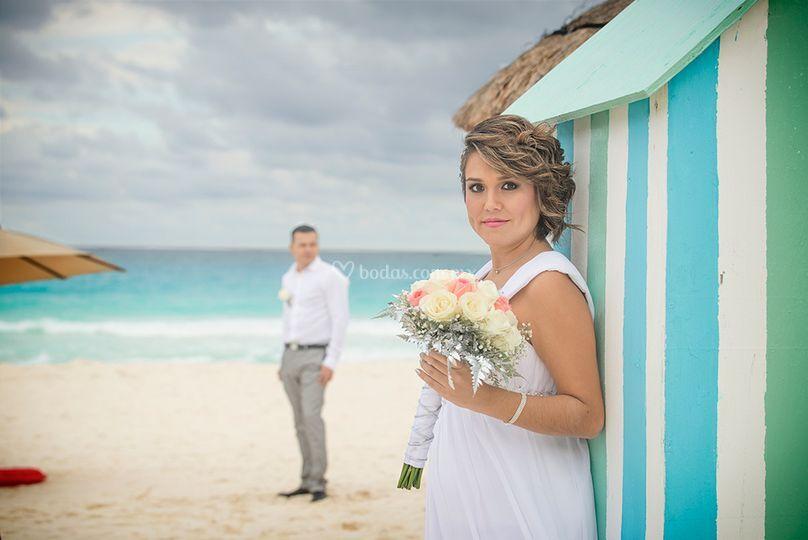 Brenda & andreí, cancún