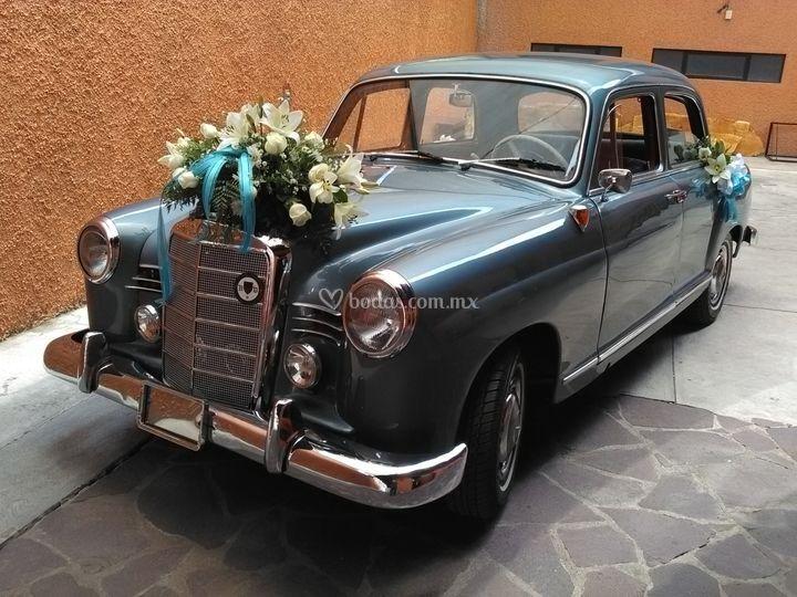 Mercedes Benz para su boda