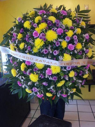 Flores para defunción