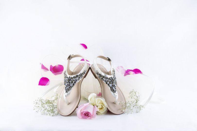 Sandalia playa boda
