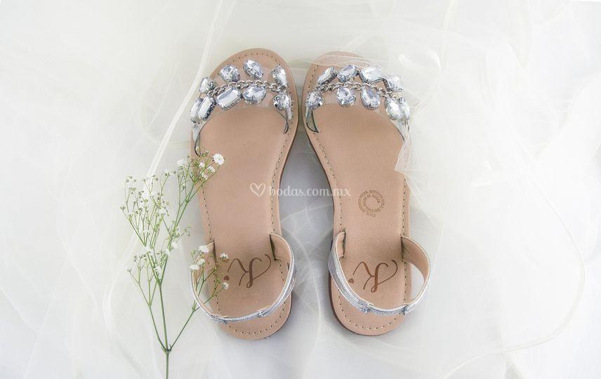 Sandalia Tulum bodas