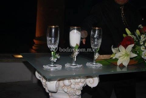 Ceremonia de la sal y azucar