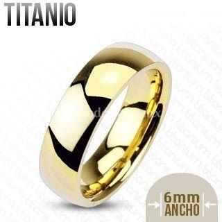 Argollas de titanio