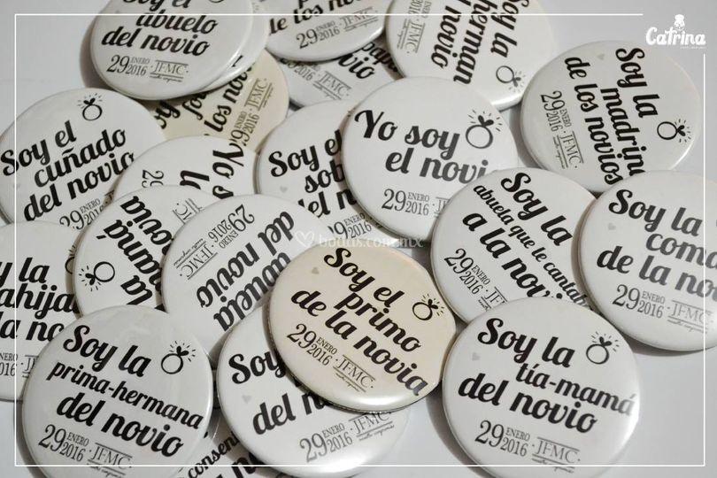 Divertidos Pins Con Frases De Catrina Diseño Mexicano Foto 13