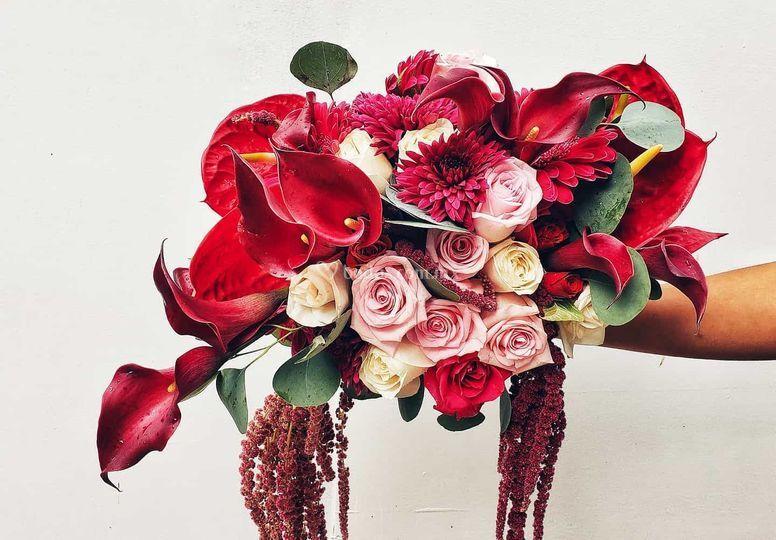 Brindal bouquet, ramo