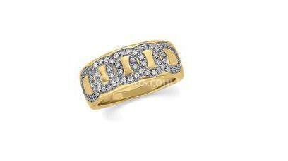 Anillo con oro y diamantes