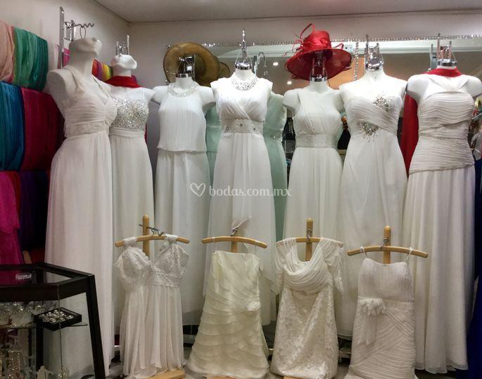 Dise os de temporada de boutique par s novias foto 51 for Disenos para boutique