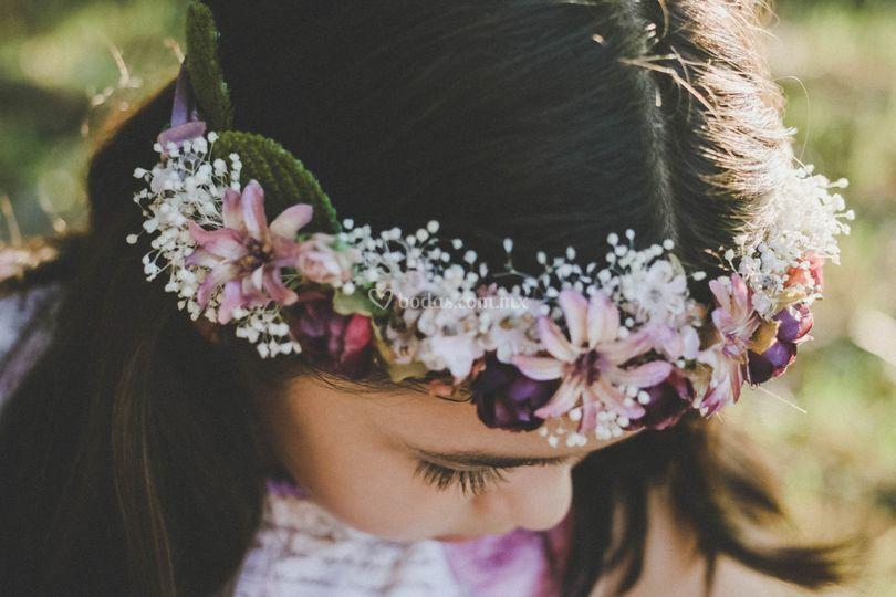 Corona floral