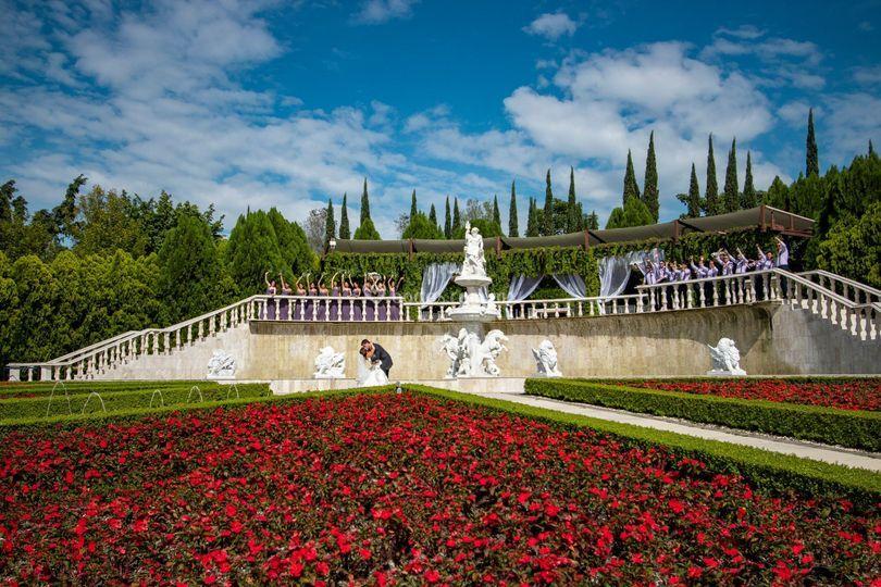 Jardín Estilo Italiano
