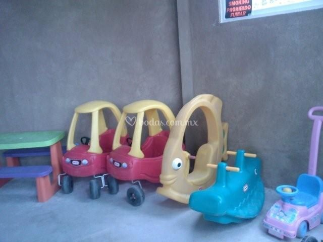 Juegos infantiles incluidos en nuestros paquetes
