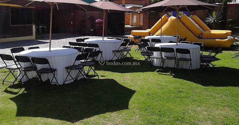 Jard n el arenal for Salon jardin villa esmeralda tultitlan