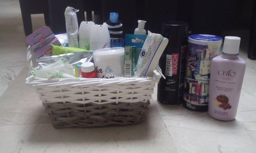 Kit para baño de mujeres